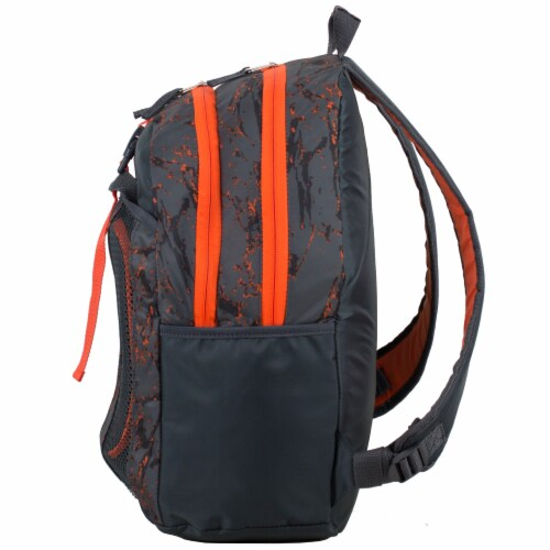 Fuel Deluxe Backpack/Lunch Bag Combo - Black/Orange Perspective: right