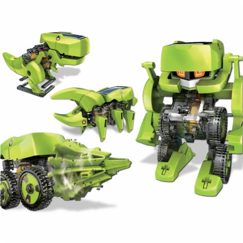 OWI  T4 Transforming Solar Robot Perspective: right