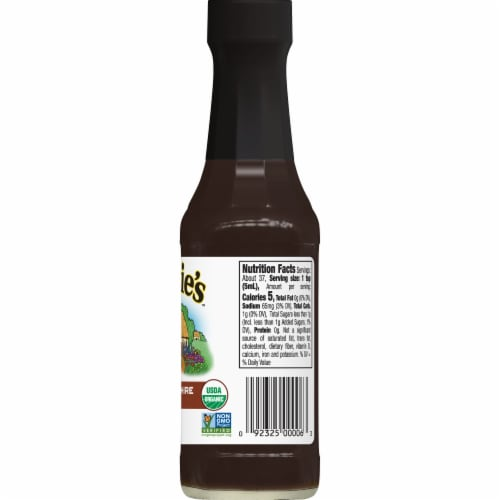 Annie's Organic Worcestershire Sauce Perspective: right
