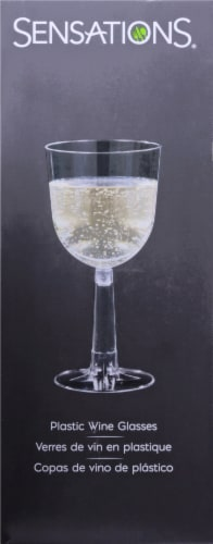 Sensations Wine Glass - Clear Perspective: right