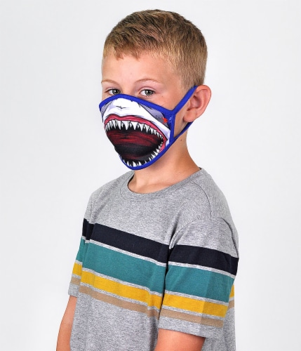 Wild Republic Aquatic Kids' Face Masks - Assorted Perspective: right