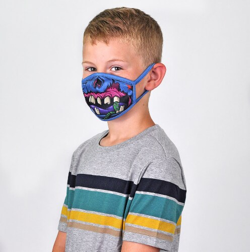 Wild Republic Trends Kids' Face Masks - Assorted Perspective: right