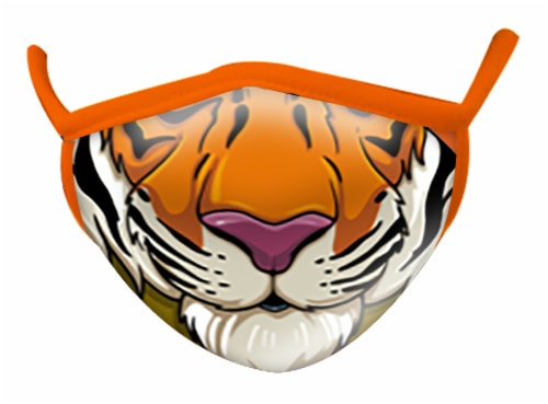 Wild Republic Smiles Assorted Adult Masks Perspective: right
