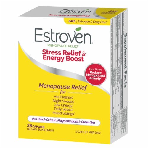 Estroven Menopause Relief Maximum Strength Caplets Perspective: right