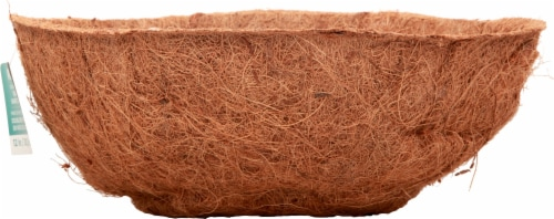 Panacea Round Coco Fiber Replacement Liner - Brown Perspective: right