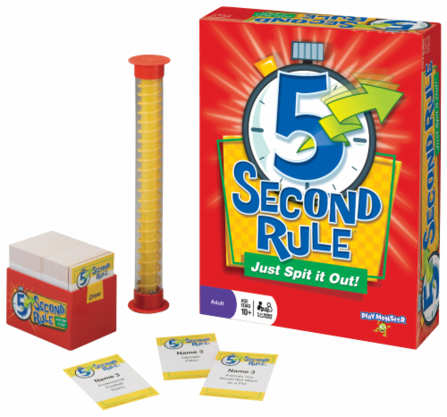 Play Monster 5 Second Rule® Game Perspective: right