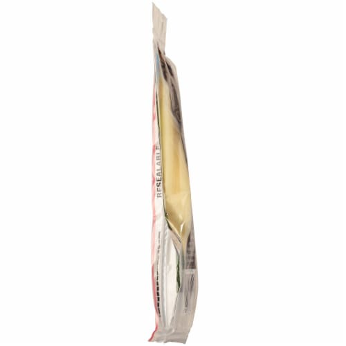 Organic Valley® Organic Provolone Cheese Slices Perspective: right