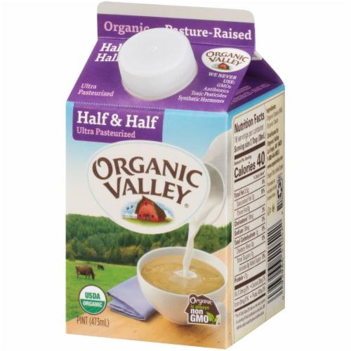Organic Valley Half & Half Perspective: right