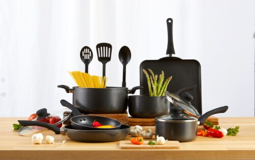 IMUSA Nonstick Cookware Set - Charcoal Perspective: right