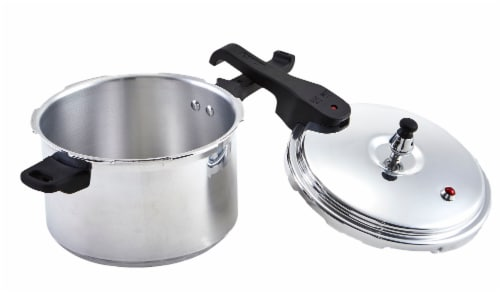 IMUSA Aluminum Pressure Cooker - Silver Perspective: right