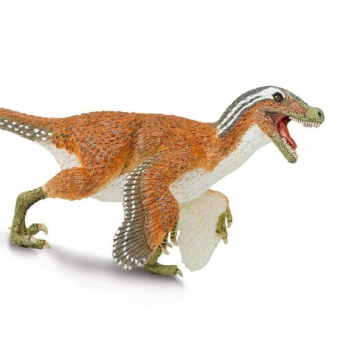 Feathered Velociraptor Toy Perspective: right