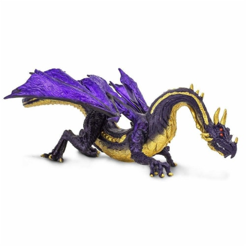Midnight Moon Dragon Toy Perspective: right