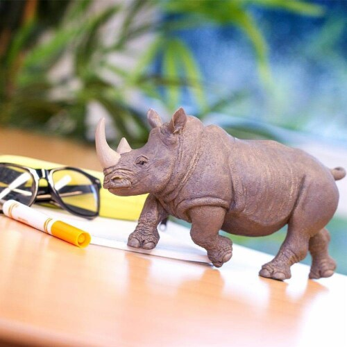White Rhino Toy Perspective: right