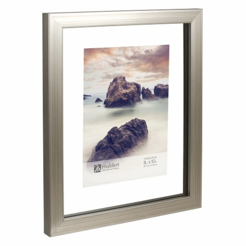 Malden International Designs 8X10 Picture Frame - Champagne Perspective: right