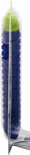 BulbHead ChewBrush Dog Toy - Blue Perspective: right