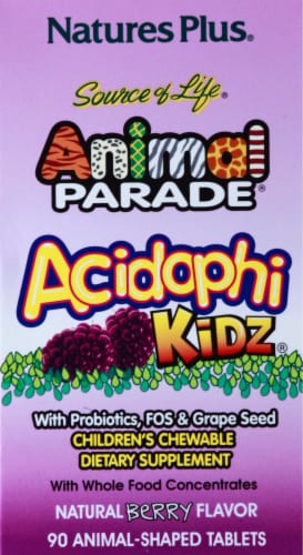 Nature's Plus Animal Parade Acidophi Berry Perspective: right