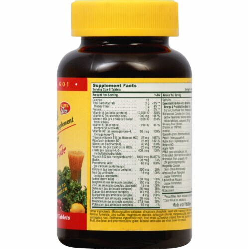 Nature's Plus Source of Life Mini Tablets Perspective: right