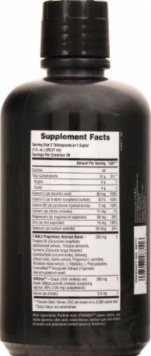 Nature's Plus T Male Mixed Berry Liquid Testosterone Boost Perspective: right