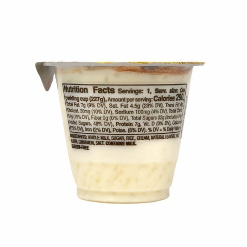 Senor Rico Rice Pudding Perspective: right