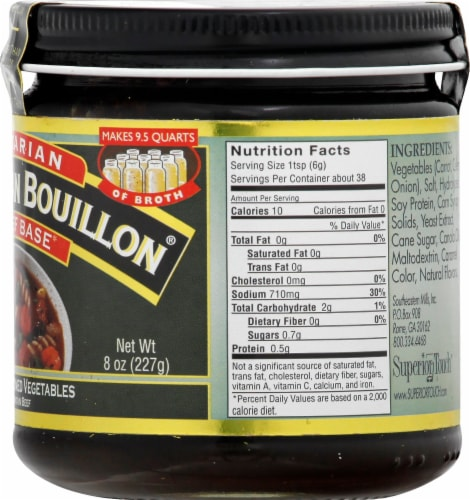 Batter Than Bouillon Vegetarian No Beef Base Perspective: right