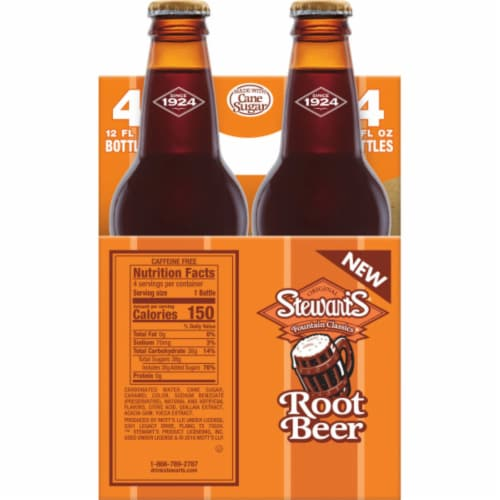 Stewart's Root Beer Perspective: right