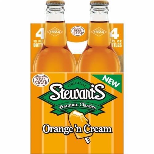 Stewart's Orange 'n Cream Soda Perspective: right