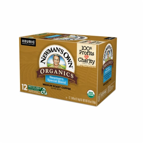 Newman's Own Organics Medium Roast Special Blend Coffee K-Cup Pods Perspective: right