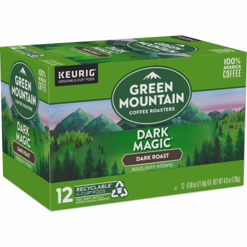 Green Mountain Coffee Dark Magic Dark Roast Coffee K-Cup Pods Perspective: right