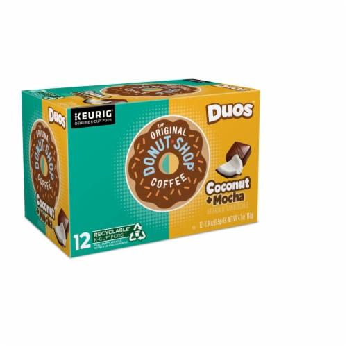 The Original Donut Shop Coconut Mocha Medium Roast Coffee K-Cup Pods Perspective: right