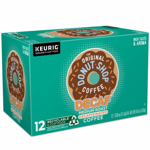 The Original Donut Shop Decaf Medium Roast Coffee K-Cup Pods Perspective: right