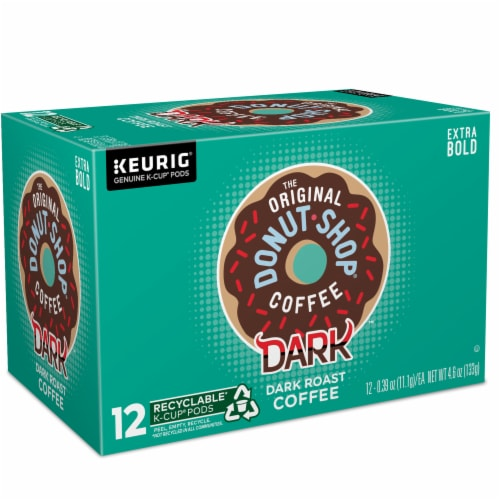 The Original Donut Shop Dark Roast Coffee K-Cup Pods Perspective: right