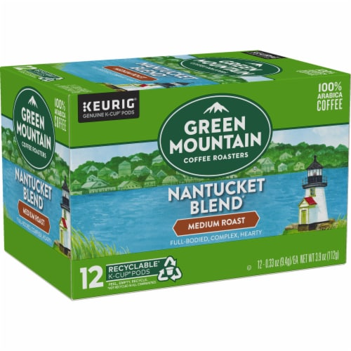 Green Mountain Nantucket Blend Medium Roast Coffee K-Cup Pods Perspective: right