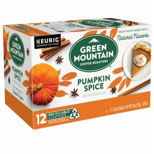 Green Mountain Coffee® Limited Edition Pumpkin Spice Coffee K-Cup Pods Perspective: right