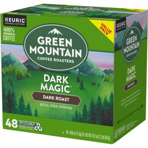 Green Mountain Dark Magic Dark Roast Coffee K-Cup Pods Perspective: right
