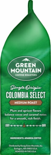 Green Mountain Coffee Colombia Select Medium Roast Ground Coffee Perspective: right