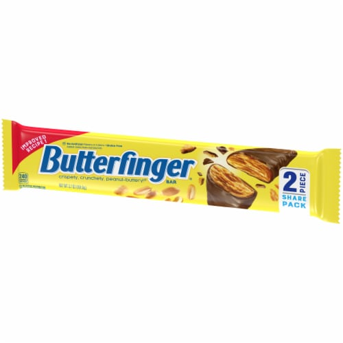 Butterfinger Share Pack Candy Bar Perspective: right