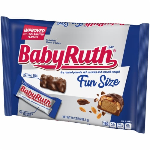 Baby Ruth Fun Size Candy Bars Perspective: right