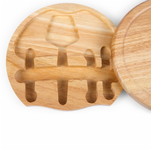 App State Mountaineers - Circo Cheese Cutting Board & Tools Set Perspective: right