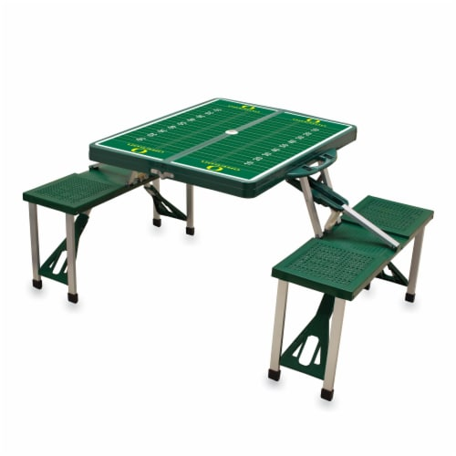Oregon Ducks Portable Picnic Table Perspective: right