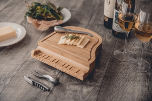 Piano Cheese Cutting Board & Tools Set, Bamboo Perspective: right