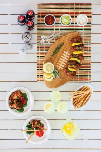 Green Bay Packers Touchdown! Football Cutting Board & Serving Tray Perspective: right