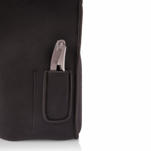 Samba Wine Carrier Tote, Black Perspective: right