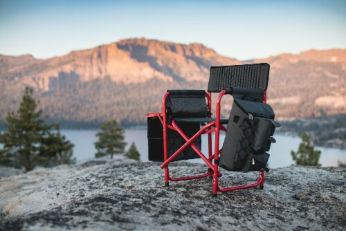 Stanford Cardinal - Fusion Backpack Chair with Cooler Perspective: right