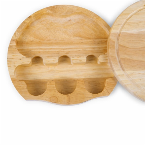 App State Mountaineers - Brie Cheese Cutting Board & Tools Set Perspective: right