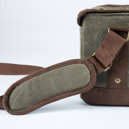 Legacy Beer Caddy Cooler Tote with Opener - Khaki Green/Brown Perspective: right