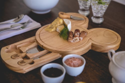 Toscana Mickey Head Shaped Cheese Board Perspective: right