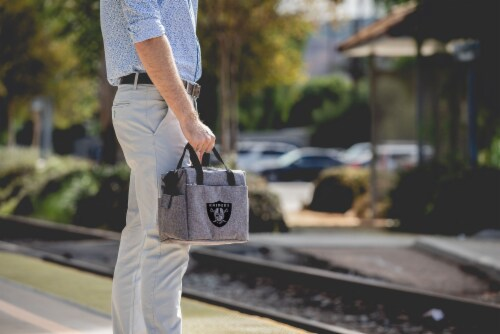 Las Vegas Raiders - On The Go Lunch Cooler Perspective: right