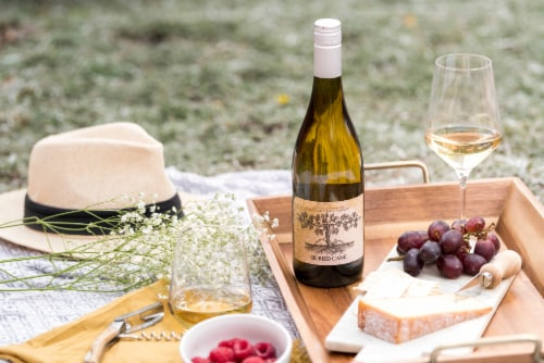 Buried Cane Chardonnay White Wine Perspective: right