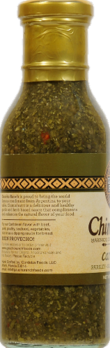 Gaucho Ranch Chimichurri Caribbean Dipping Sauce Perspective: right