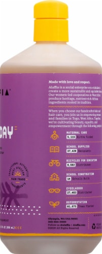 Alaffia Everyday Shea Lavender Body Wash Perspective: right